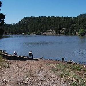 Santa fe lake hookedaz arizona fishing community for Santa fe dam fishing